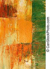 bakgrund., kanfas, målad