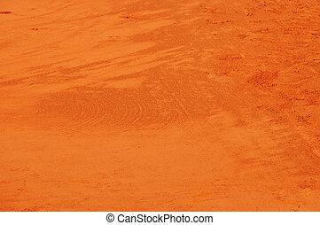 bakgrund, lera