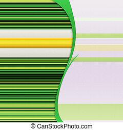 bakgrund, med, grön, stripes