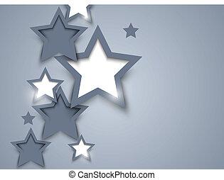 bakgrund, med, stjärnor