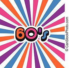 bakgrund., parti, 60's
