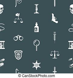 bakgrund, seamless, struktur, brott