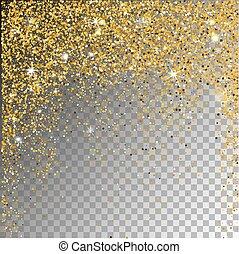bakgrund., stjärnfall, snö, transparent, sparcle