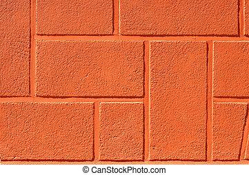 bakgrund, vägg, tegelsten