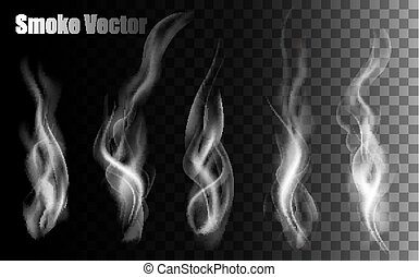 bakgrund., vectors, transparent, röka