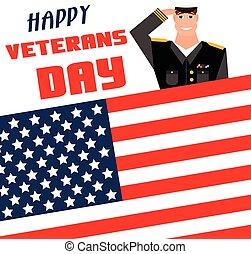 bakgrund., veteransdag