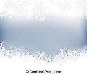 bakgrund, vinter