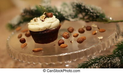baking cake decorating Sprinkle powder sugar styling food