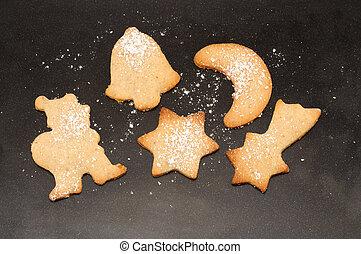Baking Christmas Cookies