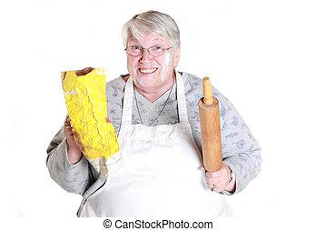 baking grandmother