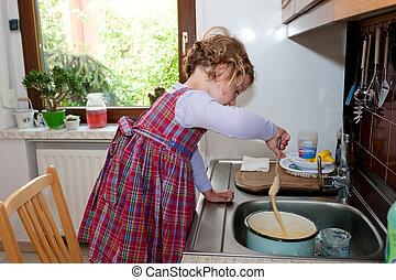 Baking helper