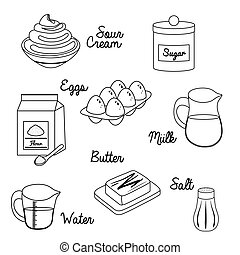 Baking icon design - Baking concept with icon design, vector...