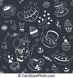 Baking seamless background