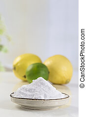 baking soda sodium bicarbonate Medicinal and household Uses...