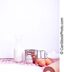 Baking table in kichen