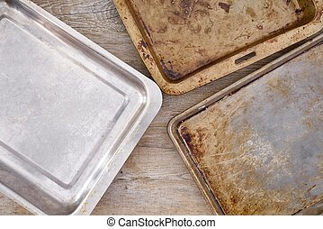Baking Tray - A studio photo of a baking tray