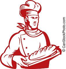 bakker, brood