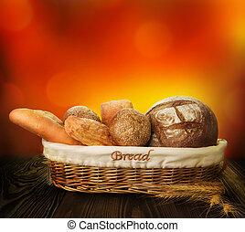 bakkerij, brood