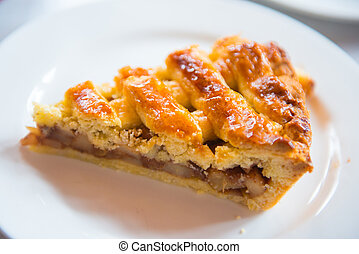 bakkerij, recept, appel, zelfgemaakt, pastei