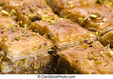 Baklava - traditional middle east sweet desert