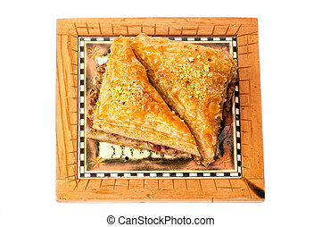 Baklava, traditional middle east sweet
