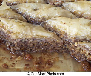 baklava, traditional midle east sweet
