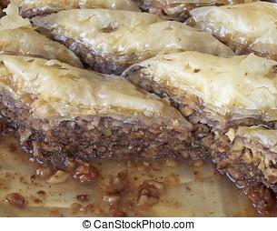baklava, traditional midle east sweet