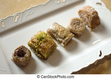 baklava turkish dessert
