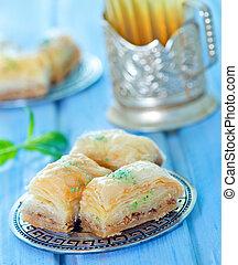 Baklava, Turkish dessert