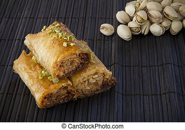 Baklava with Pistachio Nuts