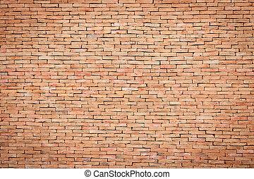 baksteen, achtergrond, muur, textuur