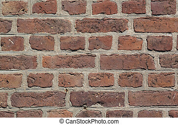 baksteen muur, achtergrond