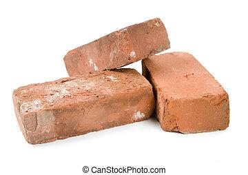 baksteen, rood