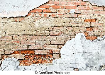 baksteen, textuur
