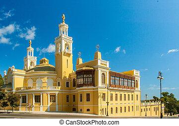 Baku - SEPTEMBER 22, 2007: Azerbaijan State Philharmonic...