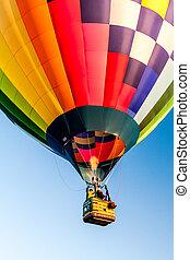 balão ar quente, festival