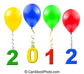 balões, 2012
