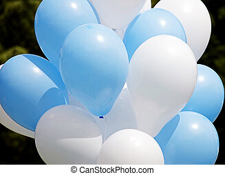 balões, 3, grupo