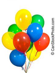 balões, sortido