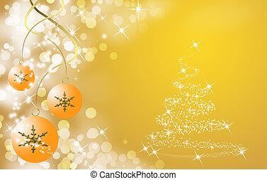 bal, boompje, cristmas