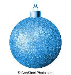 bal, eps, achtergrond., 8, witte kerst