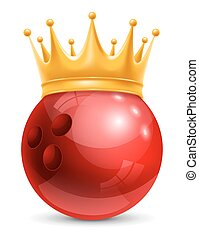 bal, kroon, bowling