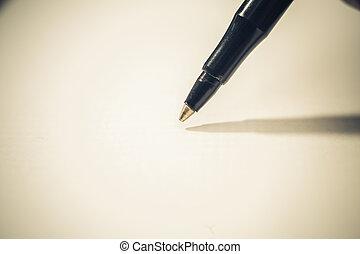 bal punt, pen