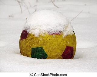 bal, sneeuw
