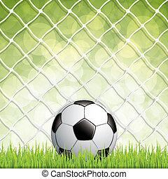 bal, voetbal, gras