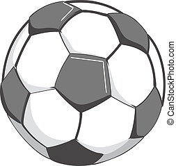 bal, voetbal, illustratie