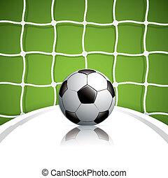 bal, voetbal net