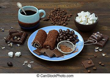 bala doce, vida, ainda, chocolate