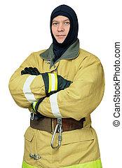 balaclava, bombeiro