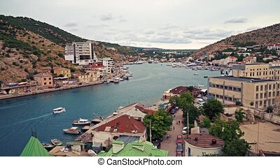 Balaklava Bay Sevastopol Crimea - Balaklava Bay in the Black...